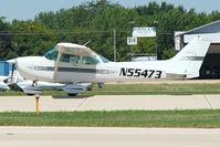 N55473 @ OSH - 1981 Cessna 172P, c/n: 17275188 at 2011 Oshkosh