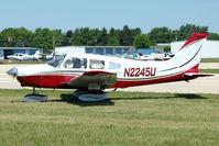 N2245U @ OSH - 1979 Piper PA-28-161, c/n: 28-7916133 at 2011 Oshkosh