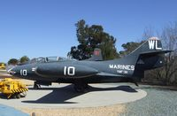 123652 - Grumman F9F-2 Panther at the Flying Leatherneck Aviation Museum, Miramar CA