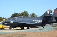 123652 - Grumman F9F-2 Panther at the Flying Leatherneck Aviation Museum, Miramar CA - by Ingo Warnecke