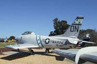135883 - North American FJ-3 / F-1C Fury at the Flying Leatherneck Aviation Museum, Miramar CA