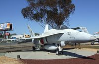 161749 - McDonnell Douglas F/A-18A Hornet at the Flying Leatherneck Aviation Museum, Miramar CA - by Ingo Warnecke