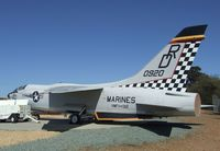 150920 - Vought F-8E Crusader at the Flying Leatherneck Aviation Museum, Miramar CA