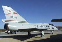 59-0158 - Convair F-106B (ex QF-106B) Delta Dart at the Century Circle display outside the gate of Edwards AFB, CA