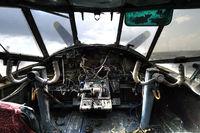 LZ-1089 - The worn out Cockpit of this plane, shot taken at Burgas airport Bulgaria - by Jan Gravekamp