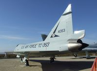 54-1353 - Convair TF-102A Delta Dagger at the Century Circle display outside the gate of Edwards AFB, CA