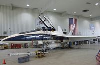 N852NA @ KEDW - McDonnell Douglas F/A-18B Hornet at the NASA Dryden Flight Research Center, Edwards AFB, CA