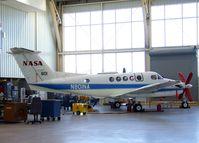 N801NA @ KEDW - Beechcraft B200 King Air at the NASA Dryden Flight Research Center, Edwards AFB, CA