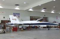N843NA @ KEDW - McDonnell Douglas F/A-18A Hornet at the NASA Dryden Flight Research Center, Edwards AFB, CA