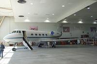 N805NA @ KEDW - Gulfstream G-1159 Gulfstream II at the NASA Dryden Flight Research Center, Edwards AFB, CA