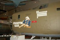 42-51857 - Nose Section of Consolidated B-24 Liberator  Fightin' Sam at the Mighty 8th Air Force Museum, Pooler, GA - by scotch-canadian