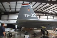 N22YF - Lockheed YF-22A at the Air Force Flight Test Center Museum, Edwards AFB CA