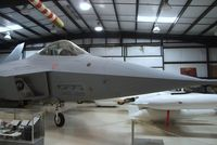 N22YF - Lockheed YF-22A at the Air Force Flight Test Center Museum, Edwards AFB CA