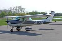 OE-AHC @ LOAU - Cessna 150M [150-78589] Stockerau~OE 16/04/2005.