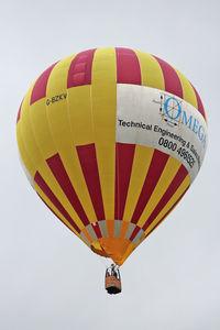 G-BZKV - Participant on Day 3 (Saturday) of  the 2012 Bristol Balloon Fiesta at Ashton Court , Bristol