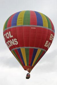 G-CCSA - 2011 Bristol Balloon Fiesta