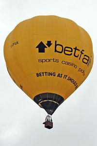 G-CFUX - 2011 Bristol Balloon Fiesta