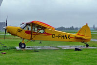 C-FHNK @ CYHU - Piper PA-18-135 Super Cub [18-2200] St.Hubert~C 17/06/2005. - by Ray Barber