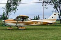D-ECOB @ EDCW - R/Cessna F.172K Skyhawk [0765] Wismar~D 21/05/2006. - by Ray Barber