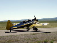 N56076 @ LVM - Ron always enjoyed taking family on short rides around Livingston Montana.  He will missed not just for his kindness, but his goodness. - by Gordon R. Sallee