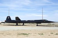 61-7955 - Lockheed SR-71A Blackbird at the Air Force Flight Test Center Museum, Edwards AFB CA