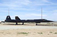 61-7955 - Lockheed SR-71A Blackbird at the Air Force Flight Test Center Museum, Edwards AFB CA