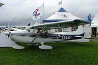 D-ECUQ @ EDMT - R/Cessna F.172M Skyhawk [0925]  Tannheim~D 18/07/2009. - by Ray Barber