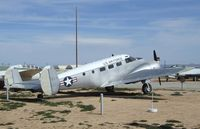 N57161 - Beechcraft UC-45J Expeditor at the Air Force Flight Test Center Museum, Edwards AFB CA