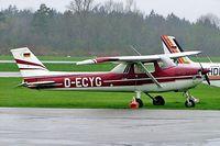 D-ECYG @ EDML - R/Cessna F.150L [0918] Landshut~D 19/04/2005 - by Ray Barber