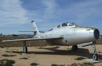 51-9350 - Republic F-84F Thunderstreak at the Air Force Flight Test Center Museum, Edwards AFB CA