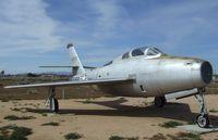 51-9350 - Republic F-84F Thunderstreak at the Air Force Flight Test Center Museum, Edwards AFB CA - by Ingo Warnecke