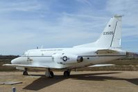 60-3505 - North American CT-39A Sabreliner at the Air Force Flight Test Center Museum, Edwards AFB CA - by Ingo Warnecke