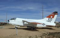67-14583 - LTV YA-7D Corsair II at the Air Force Flight Test Center Museum, Edwards AFB CA - by Ingo Warnecke