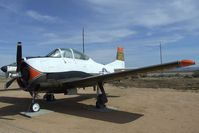 137702 - North American T-28B Trojan at the Air Force Flight Test Center Museum, Edwards AFB CA
