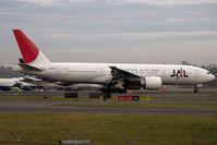 JA704J @ YSSY - taxi to terminal - by Bill Mallinson