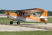 N5047G @ OSH - 1979 Bellanca 7ECA, c/n: 1302-79 at 2011 Oshkosh