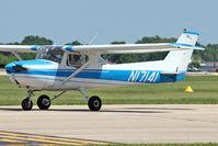 N17141 @ OSH - 1972 Cessna 150L, c/n: 15073638 at 2011 Oshkosh