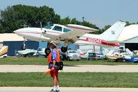 N6104X @ OSH - 1978 Cessna 310R, c/n: 310R1272 at 2011 Oshkosh