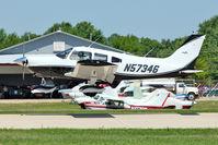 N57346 @ OSH - 1973 Piper PA-28-235, c/n: 28-7410033 at 2011 Oshkosh