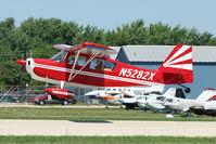 N5282X @ OSH - 1969 Champion 7KCAB, c/n: 216 at 2010 Oshkosh