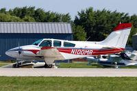 N100MR @ KOSH - Beech 95-B55 Baron [TC-1512] Oshkosh~N 30/07/2008. - by Ray Barber