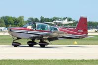 N105NA @ OSH - 1978 Gulfstream American Corp AA-5B, c/n: AA5B-1016 at 2011 Oshkosh - by Terry Fletcher