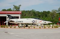 157342 @ NKT - McDonnell RF-4B Phantom II on display at the Havelock Tourist & Event Center, Havelock, NC - by scotch-canadian