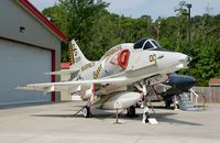 160024 @ NKT - Douglas A-4M Skyhawk on display at the Havelock Tourist & Event Center, Havelock, NC - by scotch-canadian