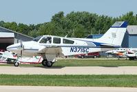 N3715C @ OSH - 1981 Beech 95-B55 (T42A), c/n: TC-2391 at 2011 Oshkosh