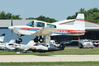 N9623U @ OSH - 1975 Grumman American Avn. Corp. AA-5, c/n: AA5-0823 at 2011 Oshkosh
