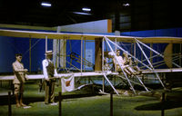 UNKNOWN @ FFO - The Wright Flyer display at the USAF Museum in the Summer of 1977. - by Peter Nicholson