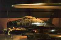 54-1753 @ FFO - F-100C Super Sabre named Susan Constant as displayed at the USAF Museum in the Summer of 1977. - by Peter Nicholson