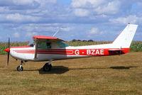 G-BZAE @ EGCV - Shropshire Aero Club - by Chris Hall