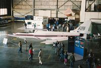 82-0049 @ KLFI - X-29 on static display at Langley airshow in 1985. - by Gregg Stansbery